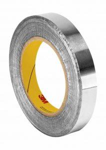 Tapecase 4212,9cm X 32,9m Argent foncé Laisse en caoutchouc/ruban adhésif, plomb, Aluminium Tape-converted à partir de 3m 421, 60–225°F Température de la Performance, 0cm épais, 32,9m Longueur, 2,9cm Largeur, rouleau de la marque 3M image 0 produit