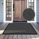 Tapis d'entrée casa pura® anthracite-noir | très absorbant + lavable | plusieurs tailles au choix - 90x120cm de la marque casa pura image 4 produit