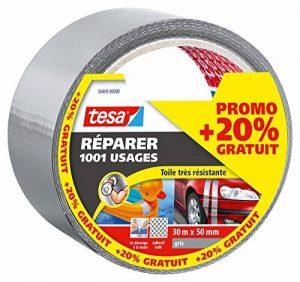 tesa 56495 - Ruban de réparation Extra Power Universal - 25 m x 50 mm - Gris de la marque TESA image 0 produit