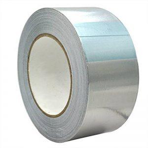 TiGree Ruban Adhésif Aluminium Bande d'étanchéité, 25m par 50mm, Couleur Argent de la marque TiGree image 0 produit