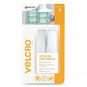 VELCRO Brand Ruban adhésif pour textile 19mmx 60cm Blanc de la marque Velcro image 0 produit