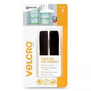 VELCRO Brand Ruban adhésif pour textile 19mmx 60cm Noir de la marque Velcro image 0 produit
