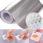 Wildlead Auto-adhésif étanche aux Huiles en Feuille d'aluminium Papier Peint de Cuisine Réchaud Sticker Mural, 40x300cm de la marque Wildlead image 2 produit